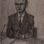 Leveson Inquiry Portraits of Brooding Journos