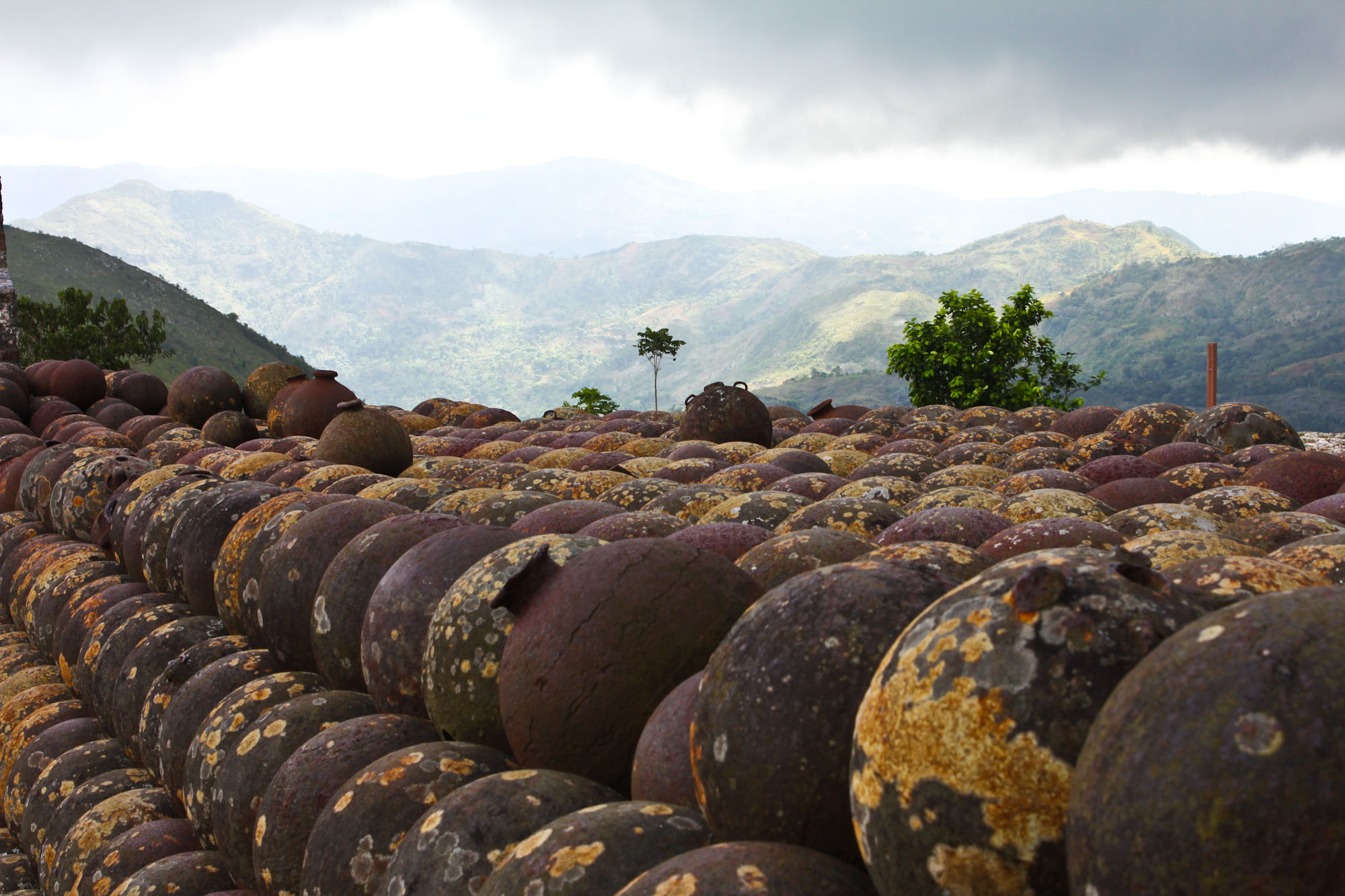 Cannon balls, Citadelle Laferrière