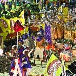 Bois Karman float at Karnaval in Cap Haitian